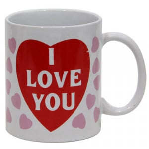 Love You Mug - Propose Day Gifts Online