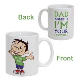 Dad Favorite Ceramic Mug