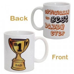 Champ Mug For Dad with Ceramic Material