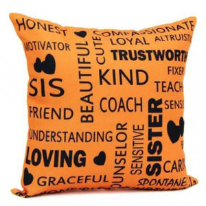Cushion For Sister - Cushions