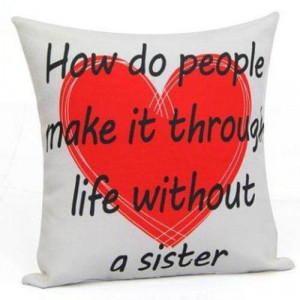 Love U Sister Cushion - Cushions