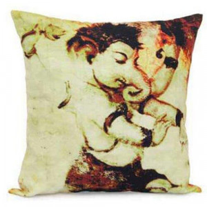 Abstract Ganesha Cushion - Cushions