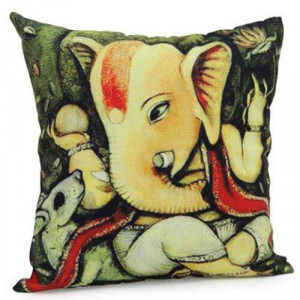 Lord Ganesha Cushion - Cushions