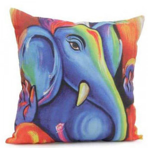 Ganesha Cushion - Cushions