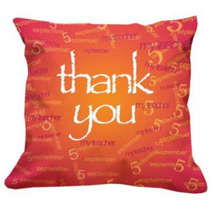Thank You Teacher Cushion - Cushions
