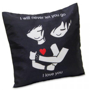 Love You Cushion - Propose Day Gifts Online
