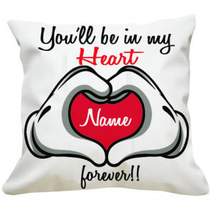 You Are In My Heart Cushion - Cushions