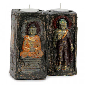 Ecstatic Buddha T-Light Holder - Anniversary Gifts for Wife
