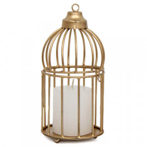 Candle And Cage Combo - Online Home Decor Items