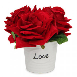 Love Rose Arrangement - Propose Day Gifts Online