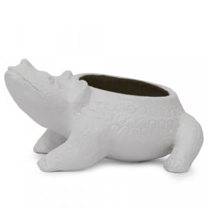 Lovely White Planter - Online Gift Ideas