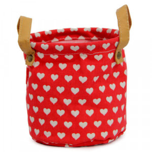 Red Heart Bag Planter - Online Gift Ideas