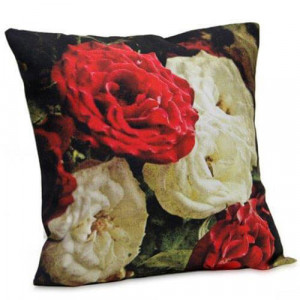 Floral Printed Cushion - Cushions
