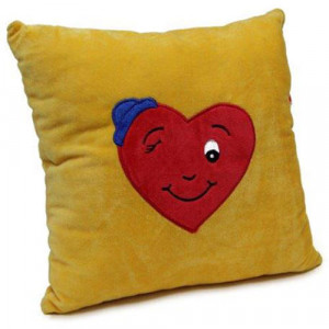 Winky Heart Cushion - Cushions