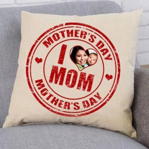 Love Mom Personalize Cushion - Cushions