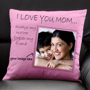 Personalize Cushion For Maa