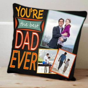 Personalize Best Dad Cushion - Cushions