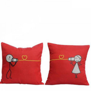Cute Couple Cushions - Cushions
