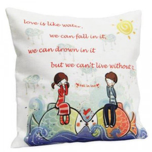Cute Love Cushion - Cushions