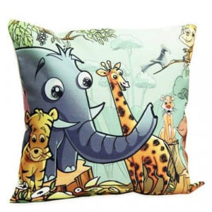 Animal Art Cushion - Cushions