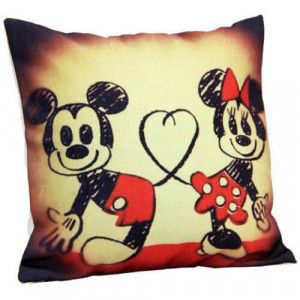 Mickey N Minnie Cushion - Cushions