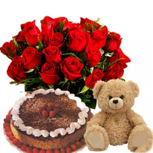 Angelique Love Hamper - Five Star Bakery - Birthday Cake Online Delivery - Send Five Star Cake Online