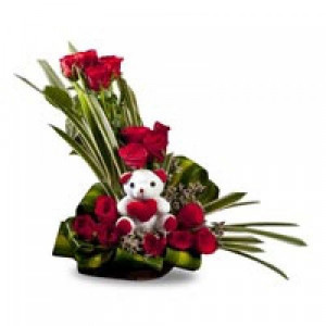 Beauty of Nature Basket - Teddy Day Gifts Online