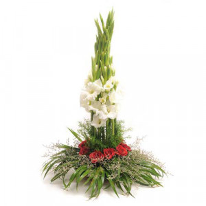Fabled Beauty - Flower Basket Arrangements Online
