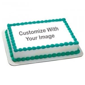 Personalised Palatable Cake 1 Kg - Send Personalised Photo Cakes Online