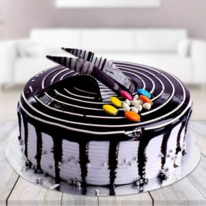 Choco Vanilla Cake - Send Cakes to Sonipat