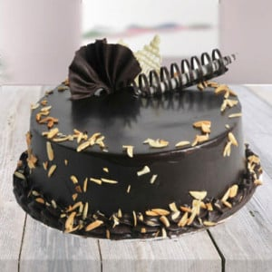 Choco Almond Cake - Cake Delivery in Mumbai