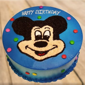 Clever Mickey Mouse Cake - Send Cakes to Sonipat