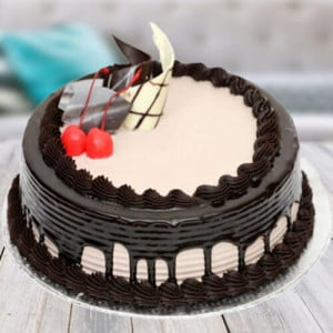Chocolate Cream Gateaux Cake - Send Cakes to Sonipat