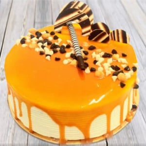 Appetizing Butterscotch Cake - Online Cake Delivery in Kurukshetra