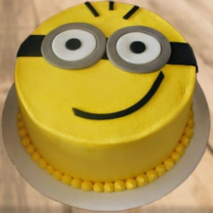 Hello Minion Cake - Birthday Gifts for Her