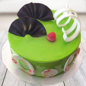 Lovely Kiwi Cake - Cake Delivery in Mumbai
