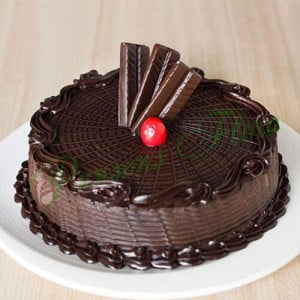Royal Crunch Cake Eggless