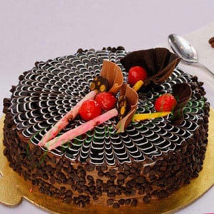 Classic Choco Chip Cake Eggless - Send Cakes to Sonipat