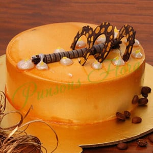 Coffee Addiction Cake - Send Cakes to Sonipat