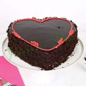 Fabulous Heart Cake - Send Wedding Cakes Online