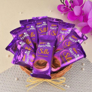 Silky Hamper - Chocolate Bouquet Online