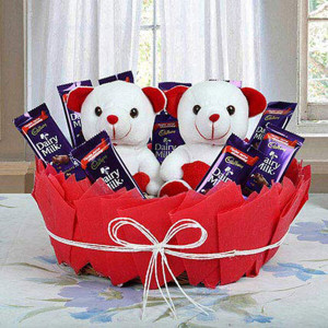 Cute Surprise Basket