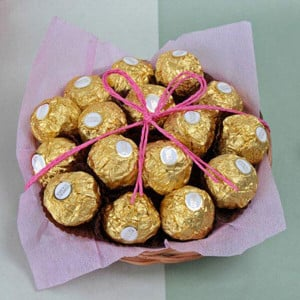 Rocher Island - Chocolate Bouquet Online