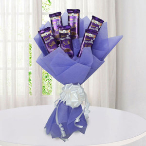 Silk Chocolate Bouquet - Chocolate Bouquet Online