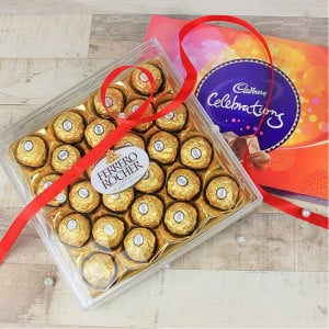 Ferrero Rocher Celebrations - Chocolate Bouquet Online