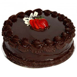 Chocolate Truffle Cherry Cake