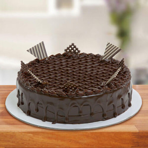 Special Chocolate Truffle Cake - Send Eggless Cakes Online