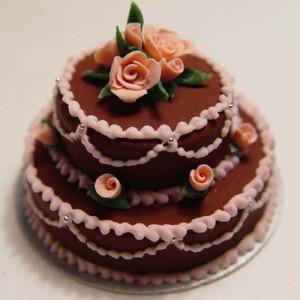 Round Shape Choco Cake