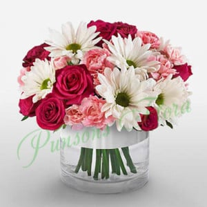 Bliss - online flowers delivery in dera bassi