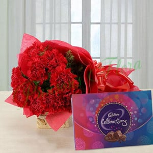 Bloom in Love - online flowers delivery in dera bassi
